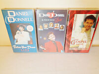 Job lot of 15 x Daniel O'Donnell VHS Tapes
