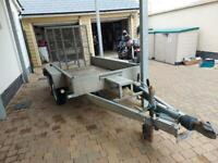 Indespenion twin axle trailer