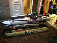 Mistral One Design Windsurfing board + kit.