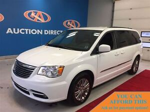 2016 Chrysler Town & Country Touring-L, LEATHER QUAD SEATING, BL