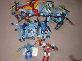 LEGO Ben 10 Alien Force Figures (X6) plus 2 Hero Factory figures