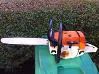 "stihl ms260 2009 16"" bar and chain in excellent used condition!!!SEE VIDEO!!"