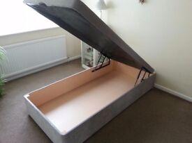 New Wheatcroft Handmade Single Ottoman Bed