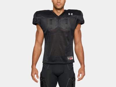 - Under Armour Men's Football Practice Jersey 1276840-001 Black