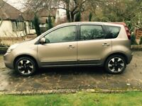 Nissan Note, Automatic, 1.6 petrol, low mileage, good condition, service history, new MOT