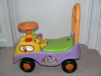 Winnie the pooh walker/ride on - need gone asap