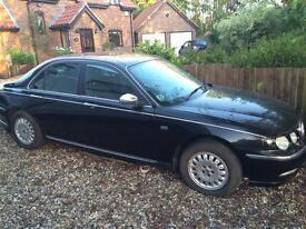 Rover 75 2.0 V6 Connoisseur Raven black (PMF) breaking for spares