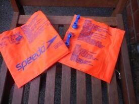 6-12 months swim neoprene, Splash about happy nappy, size medium, Speedo arm bands 2-12 yrs