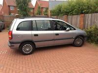 2002 Vauxhall zafira 1.6 petrol spares or repair