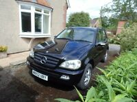 Mercedes ML270 CDi 52 Plate Low Mileage for age - Immaculate Condition