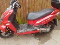 Sym jet moped 50cc
