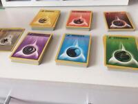Pokemon cards - energy cards