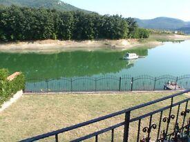 A rare opportunity to purchase a waterfront property on Lake Tsonovo/Bulgaria