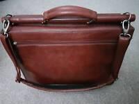 Genuine leather men shoulder bag