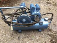 air compressor vintage works well on belt