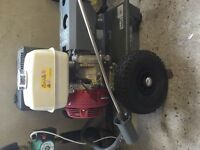 Honda gx340 pressure washer with orbital surface cleaner