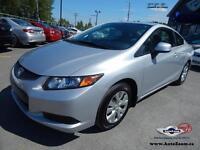 2012 Honda Civic Cpe LX * 54,262KM *