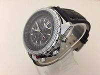 New Breitling for Bentley Motors Edition automatic watch with leather strap