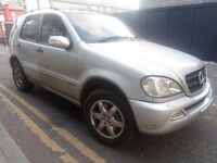 MERCEDES BENZ ML270 CDI INSPIRATION *** 7 SEATS *** AUTOMATIC *** LEATHER INTERIOR *** ONLY 2495