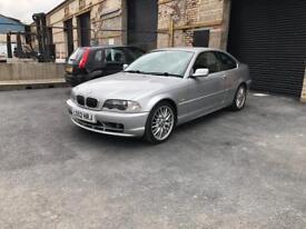 BREAKING e46 320ci coupe titan silver