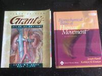 Anatomy and Human Movement Books