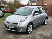 2009 NISSAN MICRA 1.2 N-TEC (AUTO) SAT NAV , FULL DEALER SERVICE HISTORY, 63K (1) OWNER FROM NEW