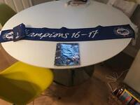Chelsea FC Champions Scarf 16-17 and guide