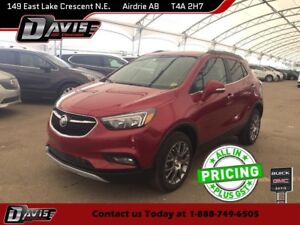 2017 Buick Encore Sport Touring NAVIGATION, SUNROOF, BOSE AUDIO