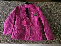 Girl's BARBOUR Flyweight International Quilted Jacket - Age 6-7