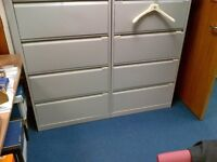 Bisley side filing cabinet. Used and in good condition.