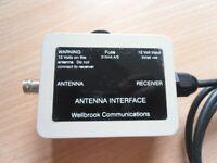 Wellbrook communications antenna interface / amplifier