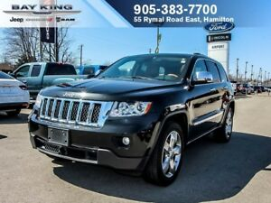 2012 Jeep Grand Cherokee OVERLAND, 4X4, SUNROOF, GPS NAV, BACKUP