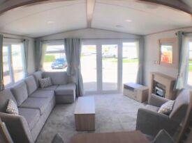 Brand New ABI Malham Holiday Home. Skegness, Ingoldmells, 2018 Site Fees Inc, 6 Berth Static Caravan