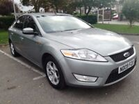 2009/09 Ford Mondeo Zetec Tdci hatch, 123k, service history with cambelt, Dec 18 MOT, bluetooth, vgc