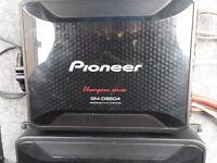 Pioneer GM-D8604 4/3/2 Channel Amplifier