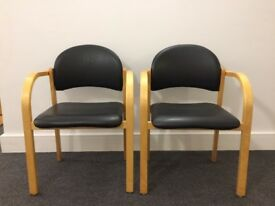 2 chairs (for meeting/waiting room, etc)
