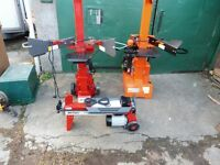 NEW PETROL AND ELECTRIC LOGSPLITTERS FROM 4.5TON TO 7.5 TON