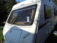 2010 Elddis Xplore 4 Berth Touring Caravan With Fixed Double Bed