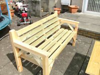 BARGAIN BENCH HAND BUILT