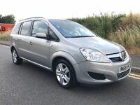 Vauxhall Zafira 1.6 i 16v Exclusiv 5dr - 7 SEATER + LONG MOT + A/C