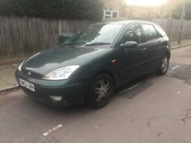 Ford focus zetec 1.6 for sale, MOT, only 2 former owners, drives well.