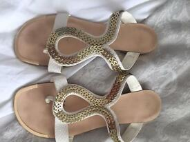 River Island size 5 summer sandals