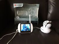 Motorola MBP36 Baby Monitor White Digital wireless, original box excellent condition