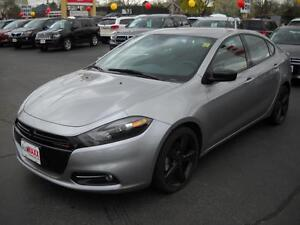 2014 DODGE DART SXT- BLUETOOTH, U-CONNECT, ALLOY WHEELS, POWER L