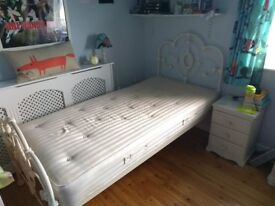 Laura Ashley Somerset Ivory Single Bed Frame