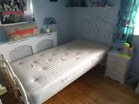 Laura Ashley Somerset Ivory Single Bed Frame