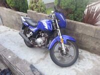 125cc road legal motorcycle, Jianshe(Yamaha ybr replica / honda cg replica)