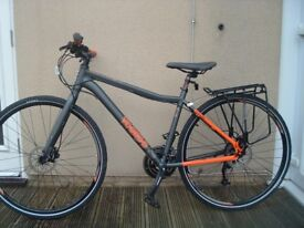 Voodoo Marasa men's hybrid bicycle £175