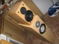 ELTAX LIBERTY 1+ & 5+ HI FI SPEAKERS , 2 PAIRS OF SPEAKERS