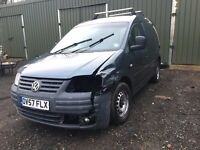 For Sale VW Caddy 1.9tdi 104 2008 Spare or Repair